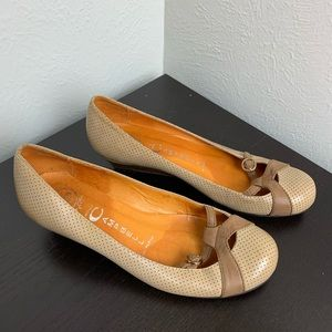 Jeffrey Campbell Size 6 Wish 2 Low Wedge Sandals